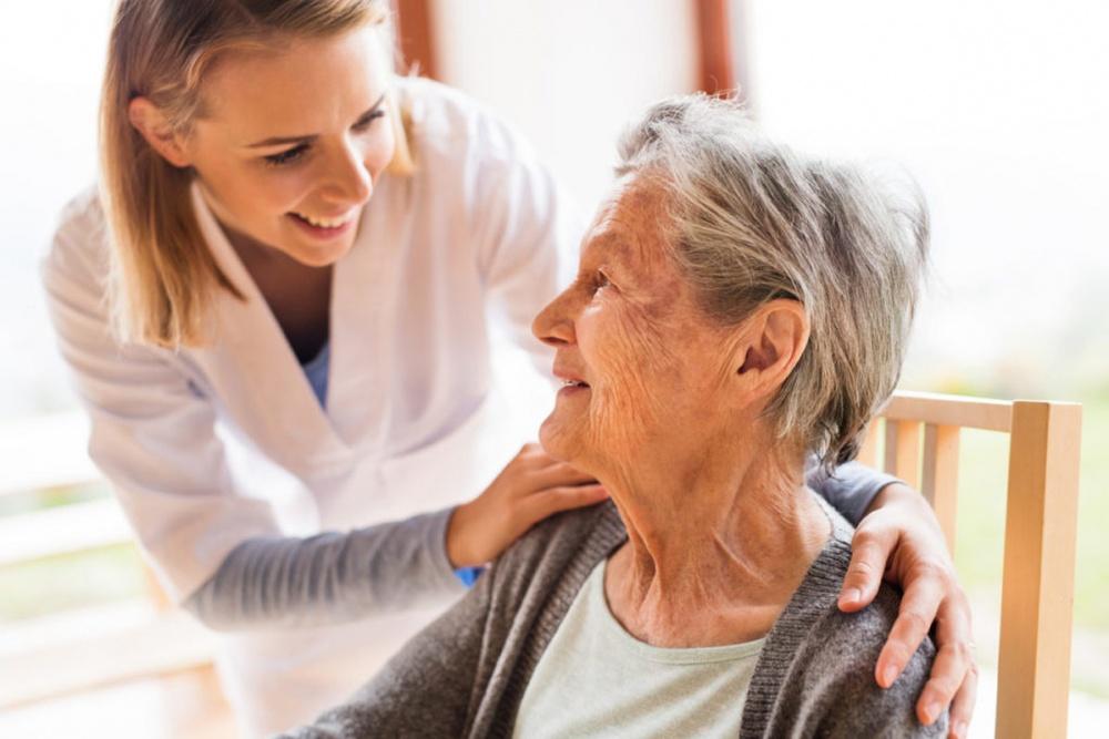 Допомога людям похилого віку