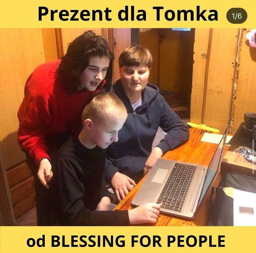 Laptop für Tomik